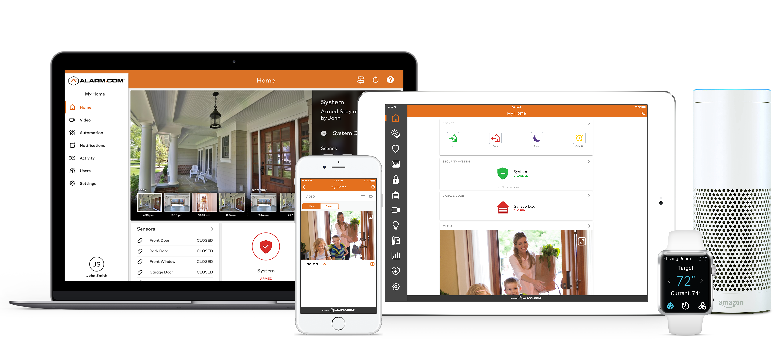 Alarm media center interactive security systems home alarm download rubansaba
