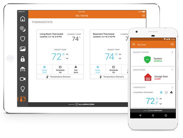 Alarm Com Smart Home Security Apps