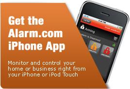 Get the Alarm.com iPhone App