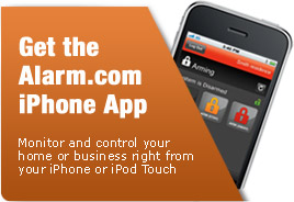 Get the Alarm.com iPhone App