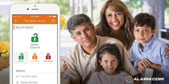 Alarm.com App + Family