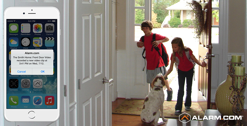 When Kids Get Crazy In Summer Smart Home Security Can Help