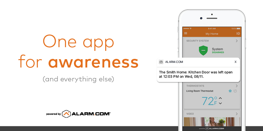 smart home app awareness