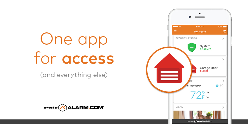smart home app locks