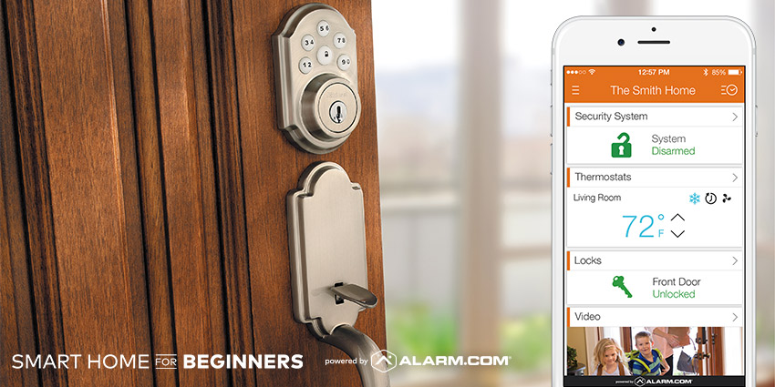 smart home beginners locks.jpg & Smart Home for Beginners: Smart Locks and Access