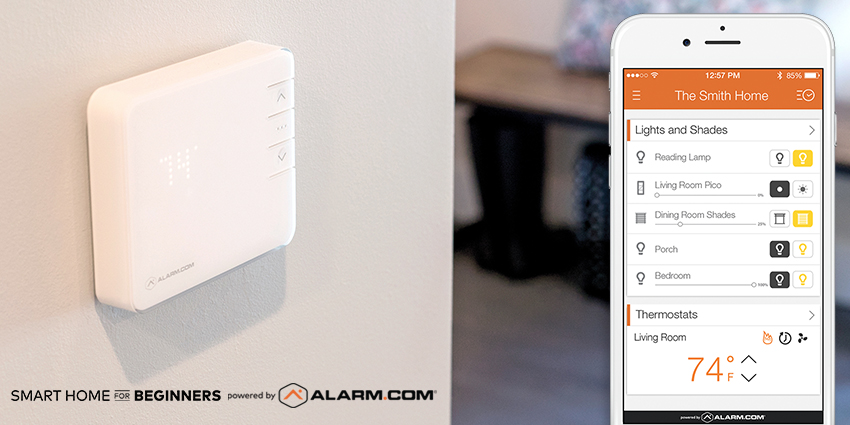 Smart Home for Beginners: Heating, Cooling, Lighting